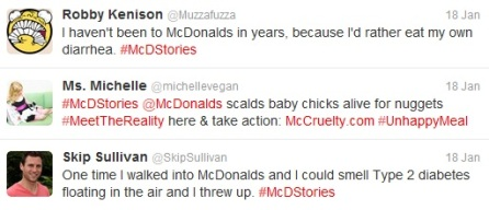 #McDStories backfires